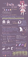 [OPEN SPECIES] Etoile Guide by Bluee12