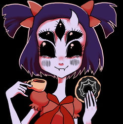 SPIDER DONUT by HariSaysMeh