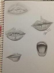 Mouth with personailties by Emtan2110
