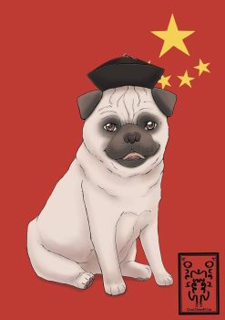 Chinese Pug by One2See4Five