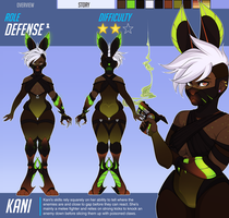 Overwatch Ref: Kani by sapphiix