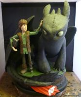Hiccup and Toothless 1 by KyleMillard