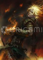 Fire Warrior by Origami-Creative