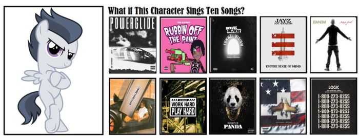 What If Rumble Sings These 10 Songs by JawsandGumballFan24