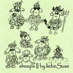 sheep brushes 2 by liebeSuse