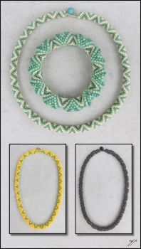 Cellini - Interrupted Necklaces by Ellygator
