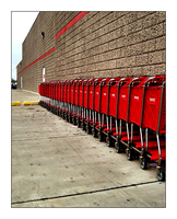Shopping carts by MichelleMarie