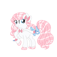 .:CLOSED:. Sylveon Themed HoloCoffee Pony (Tea) by Angel-Coffee