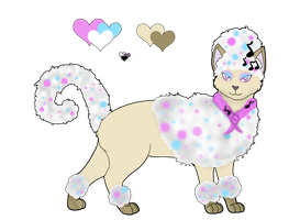 Custom Afro Cat: Mimilaru2 by WinterGiraffe