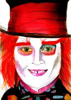The Mad Hatter by becksbeck