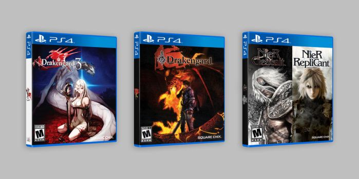 Drakengard and NieR RepliCant |Gestalt for PS4 by marblegallery7
