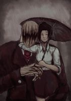 Request: Naily and Slenderfather by artevoletia