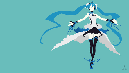 Hatsune Miku - 7th Dragon 2020 by xVordred