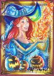 Witchcraft Sketch Card - Achilleas Kokkinakis 1 by Pernastudios