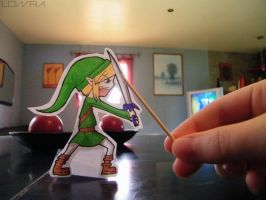 Link Paper Child by MlleLowra