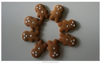 We are the Gingerbread Men by silence-within