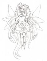 Floral Priestess Adoptable  (WIP - Not open yet) by TsukiHina