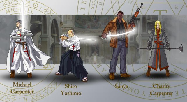 Dresden Files characters 4 by wildcard24