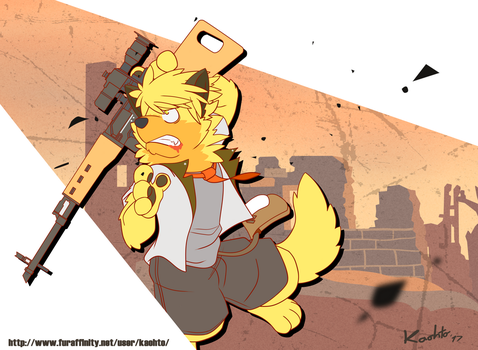 Ruined City by KaohtoPaw