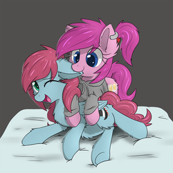 [Commission] CandyDandy and Sweet by YoShiMal2u
