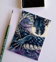 64. ACEO - Lokrath by Tir-Goldeness