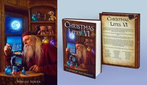 Christmas Lites - Book Cover by Wesley-Souza