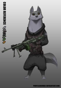 [COMMISSION] Zootopia Military? by Purpleground02