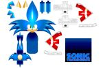 SONIC PAPERCRAFT DOWNLOAD by cheetor182