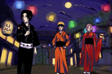 Naruto: Team Seven's Day Off by Strayfish