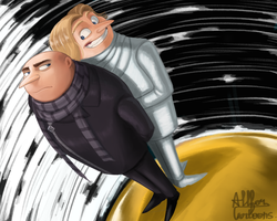 Despicable Me 3 by AllforCartoons