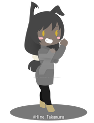 [Commission] Ealisaid Chibi by Hime-Takamura