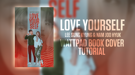 book cover tutorial // love yourself // lee sung k by btchdirectioner