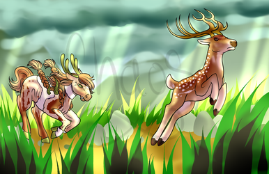 .:Hunting Image for Sjogress:. by Chaosaholic