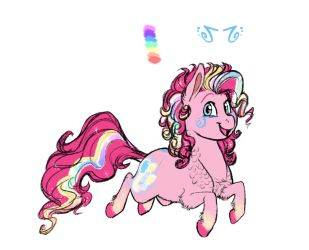 Headcanon- Rainbow Power Pinkie Pie by Earthsong9405