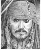 Jack Sparrow-Johnny Depp by bclara88