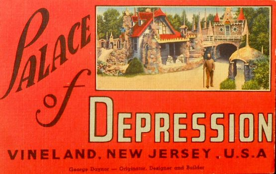 Vintage New Jersey - Palace of Depression by Yesterdays-Paper