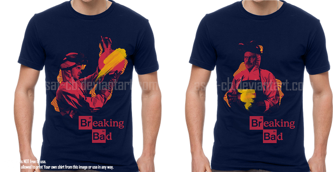 Breaking Bad shirt by asaf-CB