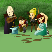 Clueless Adventurers by HueTwo