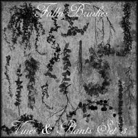 Vines And Plants Brushes Set 3 by Falln-Brushes
