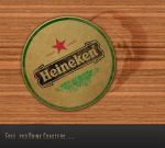 Free psd Drink Coasters by 3DEricDesign