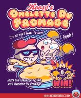 Omelette Du Fromage T-shirt Design by alsnow