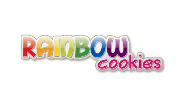 Rainbow Cookies logo by namemaychange