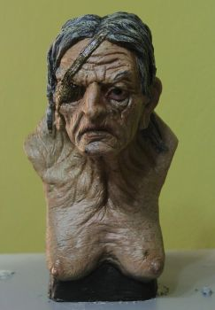 small witch maquette by glaucolonghi