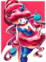 cotton candy_3ds by chicaramirez