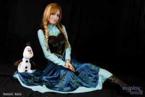 Cosplay Anna from Frozen by ThamySorel
