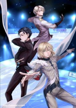 Yuri on Ice! by Eternal-S