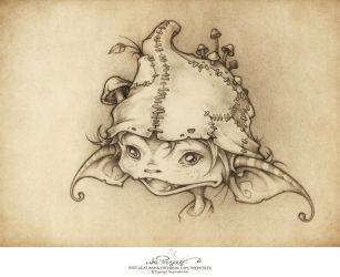 A wee Goblin called Kale. by thePicSees