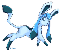 Glaceon Pixel by f-sonic
