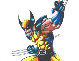 Wolverine Scan by MikeES