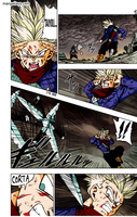 Dragon ball super manga 21 color (first picture) by bolman2003JUMP